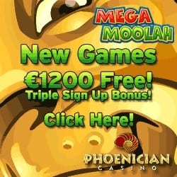 Phoenician Casino | 70% up to £€$ 1200 Bonus + Free Spins Games