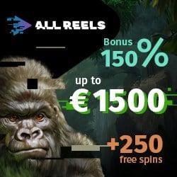 All Reels Casino banner 250x250