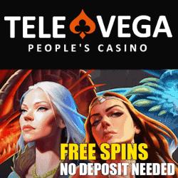 TeleVega Casino 25 FS NDB new