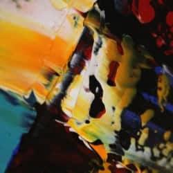 """modernes Acrylbild """"Voyage"""" von Dieu (2020)"""