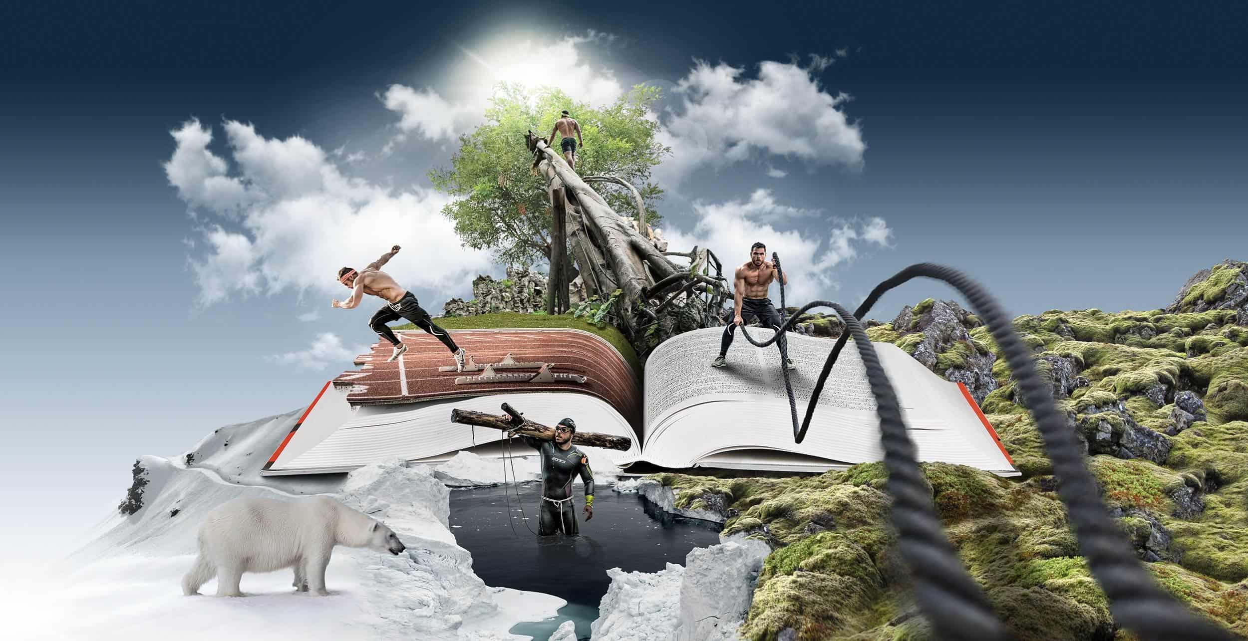 Ross Edgley Worlds Fittest Book Artwork