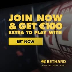 Bethard.com Casino & Sports - 200% free bonus and €100 free spins