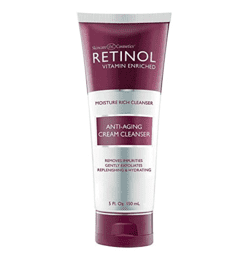 retinol face wash