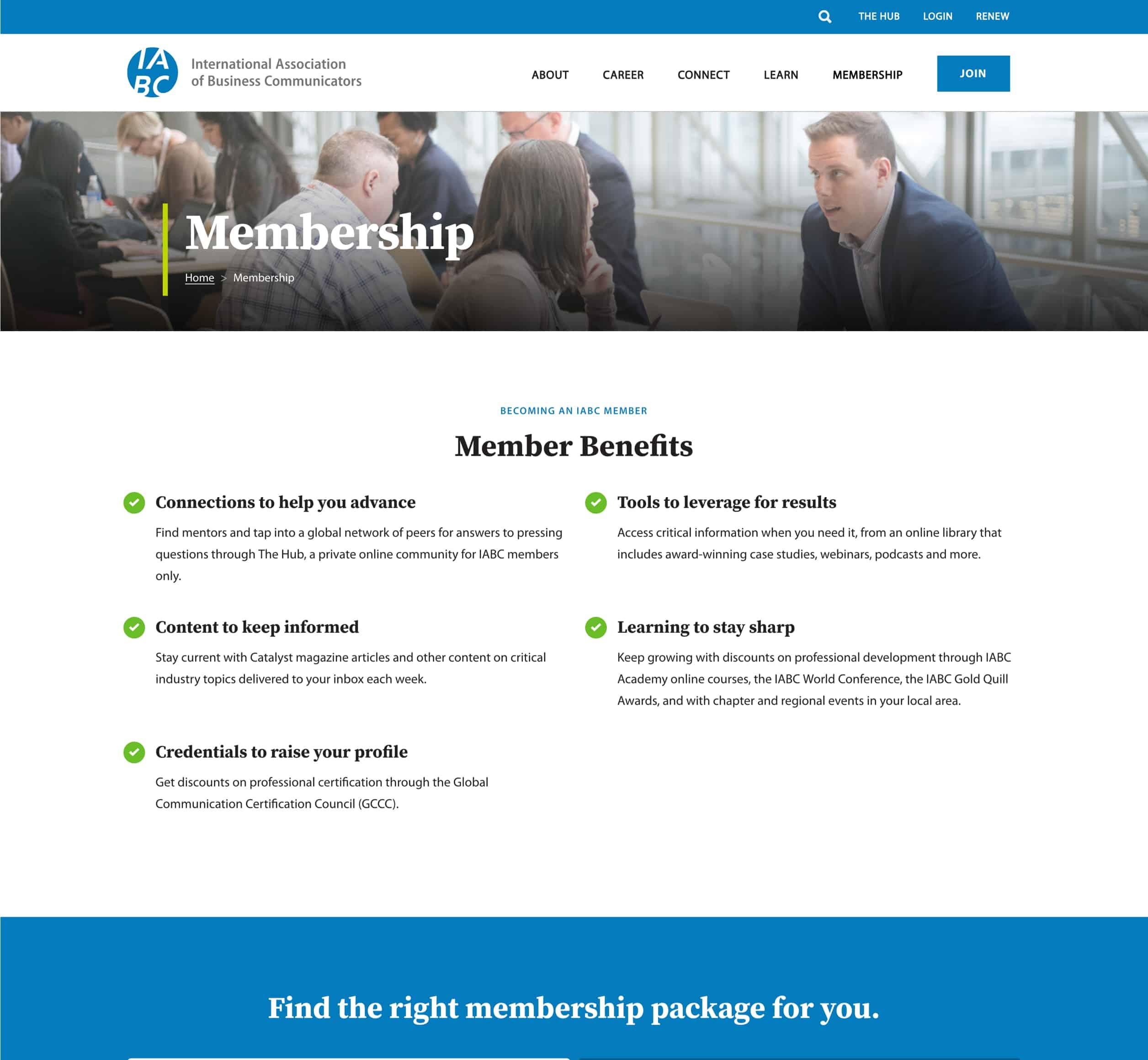 IABC - Gallery - Membership
