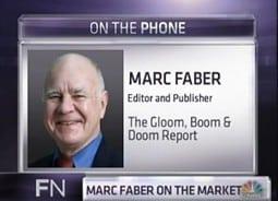 Marc Faber CNBC