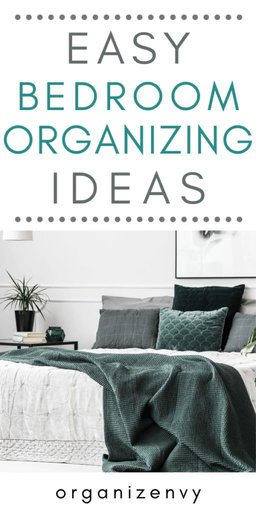 DIY Bedroom Organization