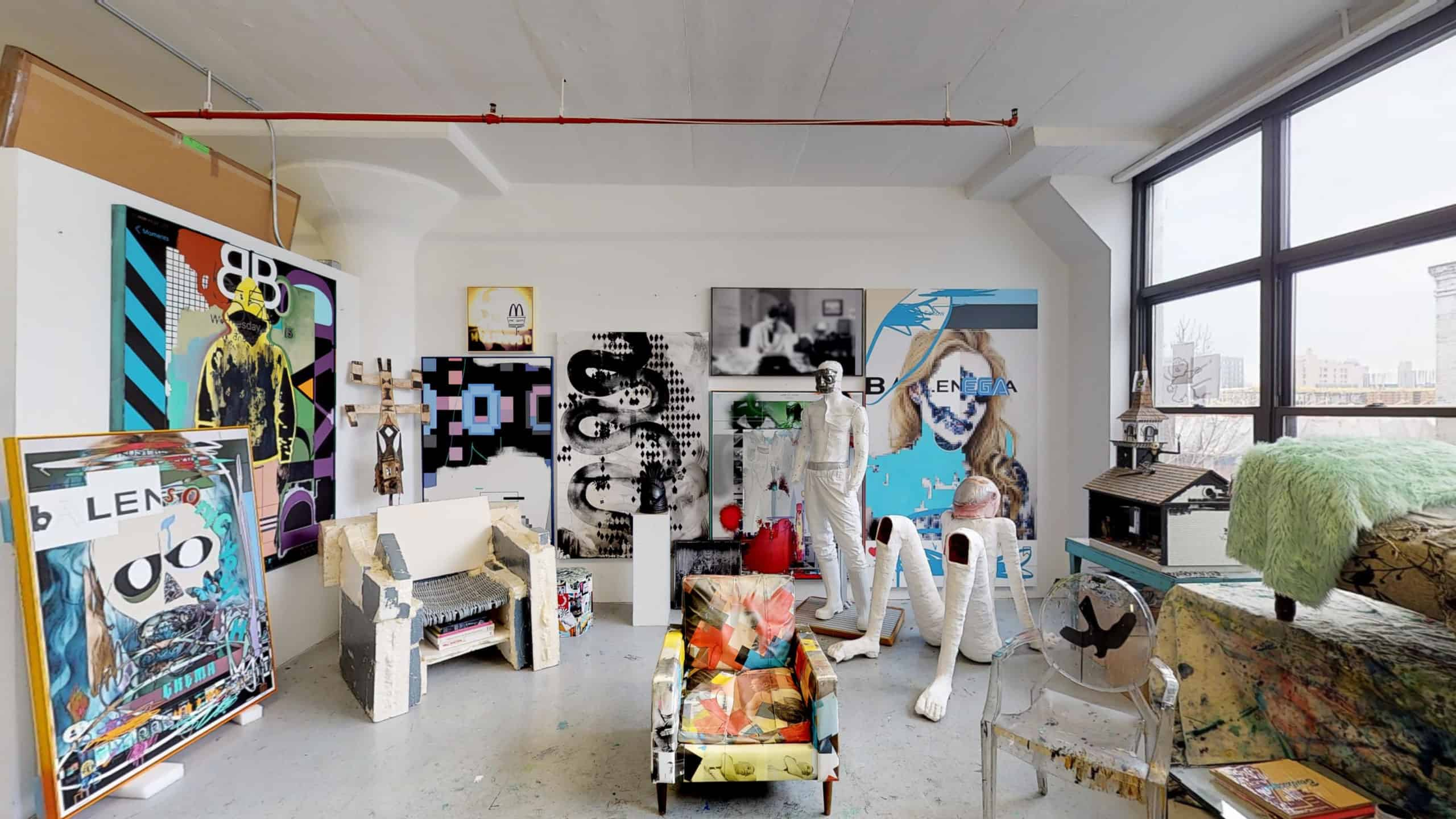 Michael Bevilacqua studio