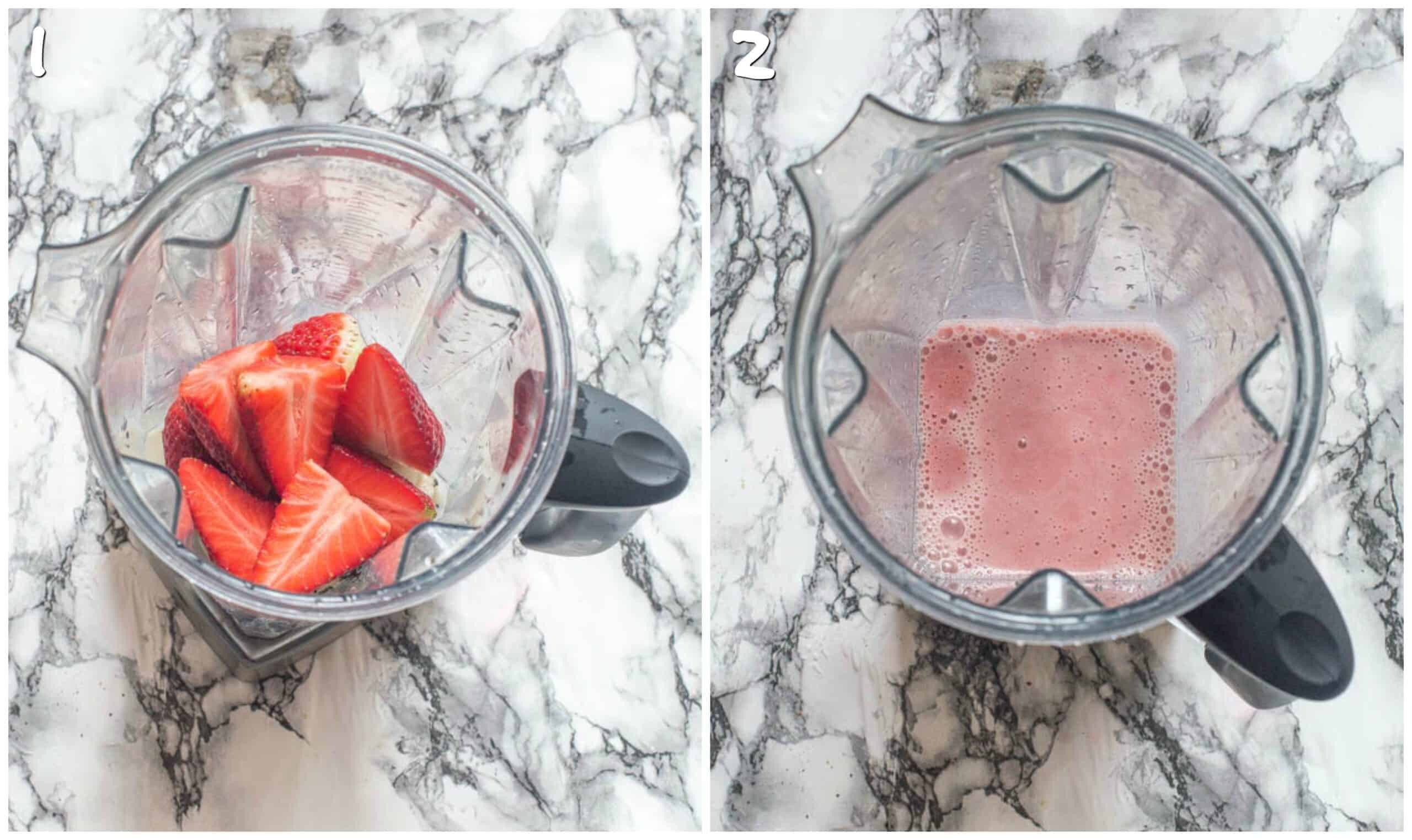 steps 1-2 blitz the smoothie