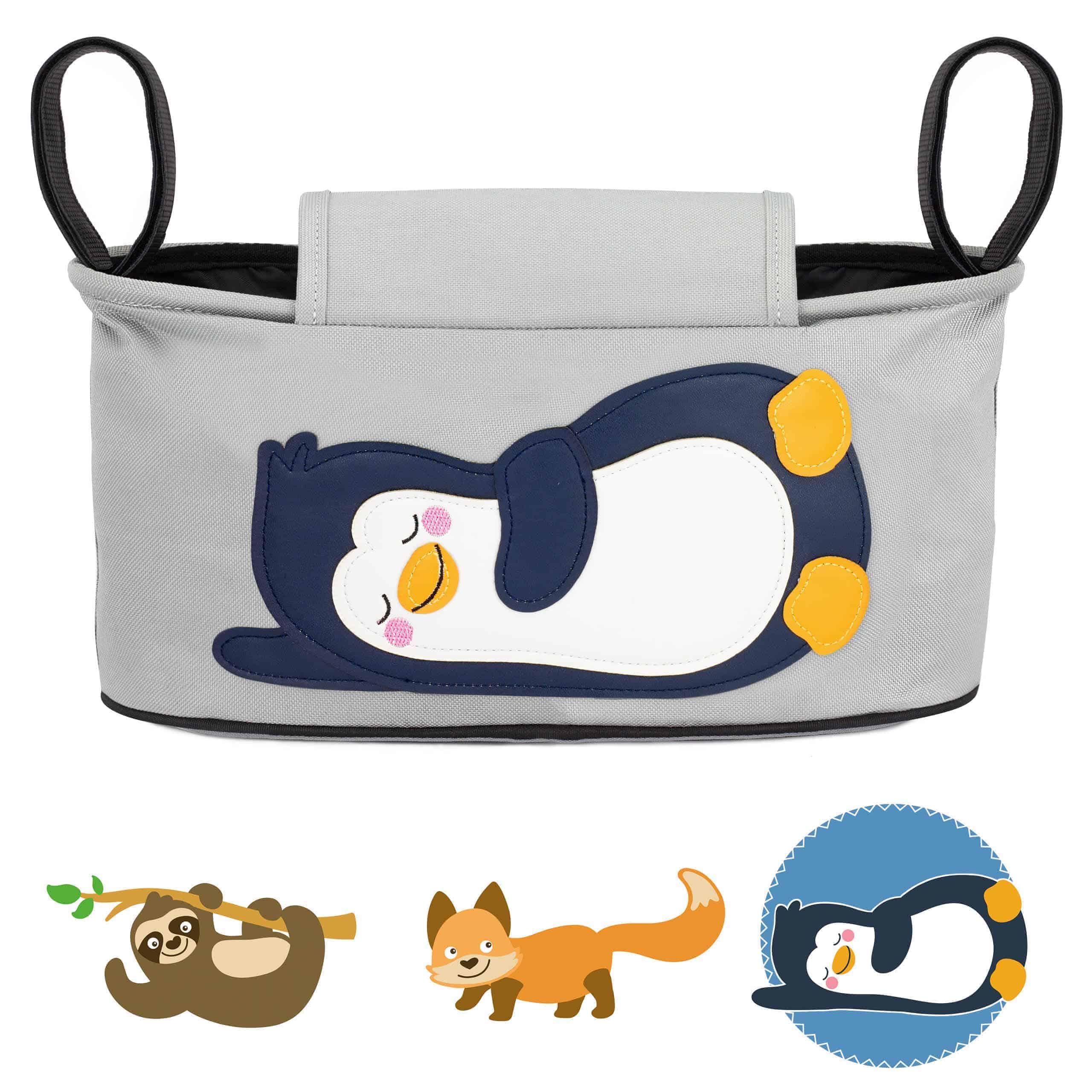 Glückswolke Pia Pinguin Kinderwagen Organizer Pinguin Tasche Buggy