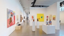 View of Rachel Uffner Gallery at the Independent New York 2019
