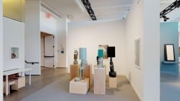 View of Linn Lünn Gallery at the Independent New York 2019