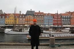 Alessandro Moroder at Nyhavn, Copenhagen