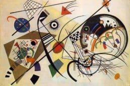 Wassily Kandinsky, Transverse Line, oil on canvas