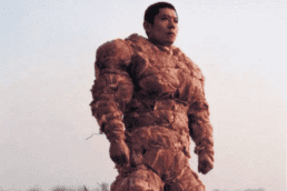 Artist Zhang Huan meat suit. My New York.