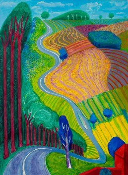 David Hockney, Landscape artists