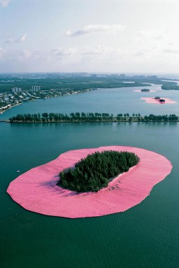 Christo and Jeanne- Claude, Land art
