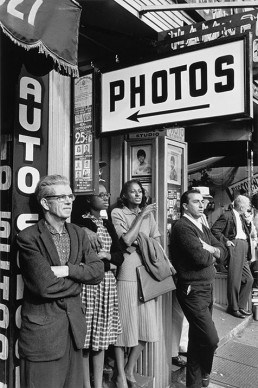 American photographers, Friedlander