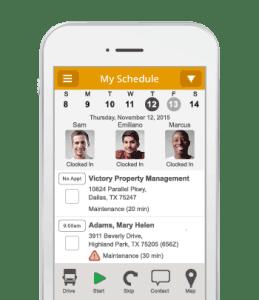 mobile app field service