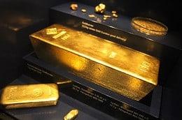 Goldbarren BuBaMuseum