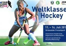 Four Nations Cup 2018  – Damen – GER vs. NZL – 12.07.2018 19:30 h