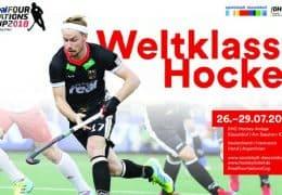 Four Nations Cup 2018  – Herren – IRL vs. ARG – 26.07.2018 17:00 h