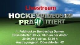 Hockeyvideos.de – DHC vs. CadA – 29.09.2018 14:00 h