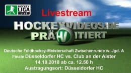 Hockeyvideos.de – Jugend DM – Zwischenrunde WJA – DHC vs. DCADA – 14.10.2018 13:00 h