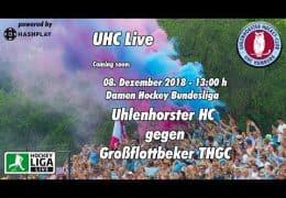UHC Live – UHC vs. GTHGC – 08.12.2018 13:00 h