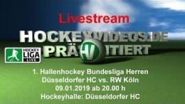 Hockeyvideos.de – DHC vs. RWK – 09.01.2019 20:00 h