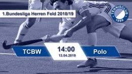 TC Blau-Weiss – TCBW vs. Polo – 13.04.2019 14:00 h