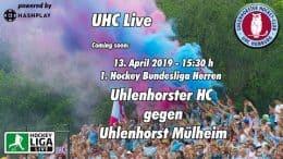 UHC Live – UHC vs. HTCU – 13.04.2019 15:30 h