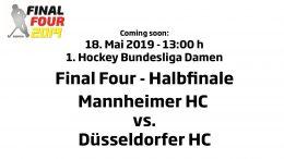 CHTC TV – Halbfinale Damen – MHC vs. DHC – 18.05.2019 13:00 h