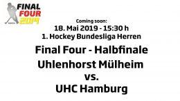 CHTC TV – Halbfinale Herren – HTCU vs. UHC – 18.05.2019 15:30 h
