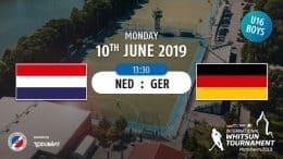 MHC TV – männliche U16 – NED vs. GER – 10.06.2019 13:30 h