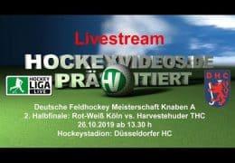 Hockeyvideos.de – Jugend DM – KA – RWK vs. HTHC – 26.10.2019 13:30 h