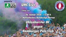 UHC Live – UHC vs. HPC – 26.01.2020 12:00 h