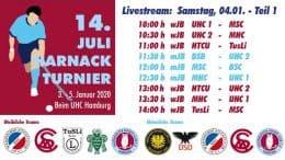UHC Live – 14. Juli Harnack Turnier – wJB/mJB – Samstag, 4. Januar 2020 Teil 1