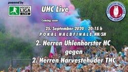 UHC Live – UHC 2 vs. HTHC 2 – 25.09.2020 20:15 h