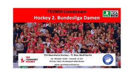 sportdeutschland.tv – TSVMH vs. TCBW – 18.10.2020 13:00 h