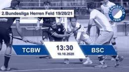 TC 1899 e.V. Blau-Weiss – TCBW vs. BSC – 10.10.2020 13:30 h