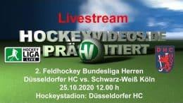 Hockeyvideos.de – DHC vs. SWK – 25.10.2020 12:00 h