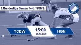 TC 1899 e.V. Blau-Weiss – TCBW vs. HGN – 25.10.2020 15:00 h