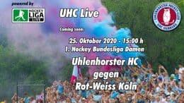 UHC Live – UHC vs. RWK – 25.10.2020 15:00 h