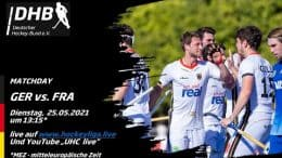 UHC Live – GER vs. FRA – Olympiatest Honamas – 25.05.2021 13:15 h