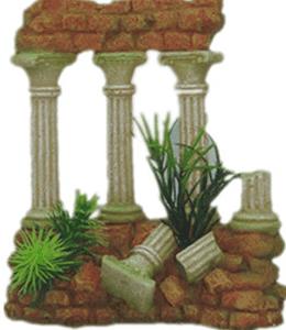 Roman Columns Aquarium Fish Tank Decoration