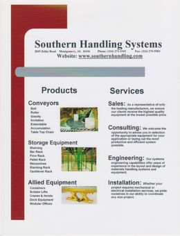 SHS Flyer - Products and Services Overview - thumbnail