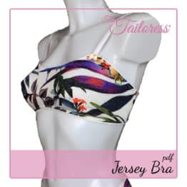 The Tailoress PDF Sewing Patterns - Jersey Bra PDF Sewing Pattern