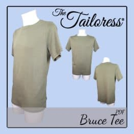 The Tailoress PDF Sewing Patterns - Bruce Tee PDF Sewing Pattern