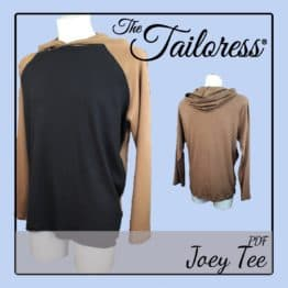 The Tailoress PDF Sewing Patterns - Joey Tee PDF Sewing Pattern