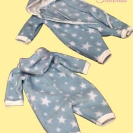 The Tailoress PDF Sewing Patterns - 0-14 YRS - Asymmetric Sleepsuit PDF Pattern
